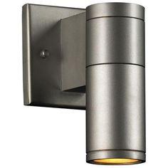 "Troll-I 7 1/2"" High Aluminum Outdoor Wall Light -"