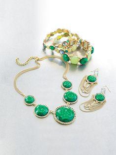 Emerald accents from Simply Vera Vera Wang. #ColorOfTheYear #Kohls