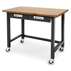 Seville Classics UltraGraphite Commercial Heavy-Duty Wood Top Workbench with Drawers on Wheels Seville Classics http://www.amazon.com/dp/B00U79A2NE/ref=cm_sw_r_pi_dp_jG8nwb07YT82C