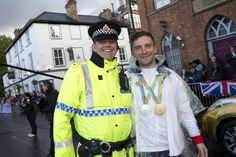 Yesterday, 17 October 2016, saw Britain's Olympic and Paralympic heroes parade through the streets of Manchester. Despite the rain, over 100,000 people turned out to show their support for our sporting stars. Greater Manchester Police's officers and staff were on hand to ensure the safety and security of all. www.gmp.police.uk