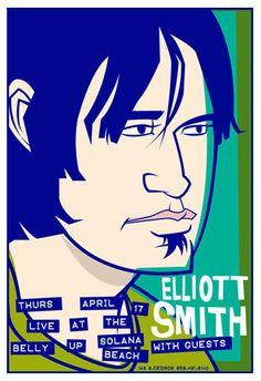 promo tour poster elliott smith