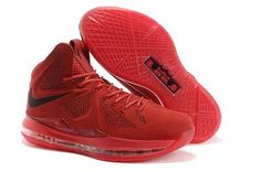 best website 8807e 50987 Nike Lebron 10 2013 Official Correct Version Red Black Running Shoes, cheap  Nike Lebron If you want to look Nike Lebron 10 2013 Official Correct  Version Red ...