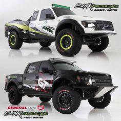 Bink designs Ranger Raptor and F-150 Raptor