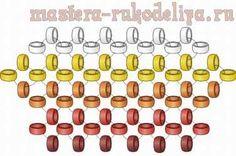 Анимированный мастер-класс по бисероплетению: Монастырское плетение (цепочка в крест) одной иглой
