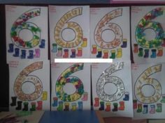 28 Best Numbers Craft Idea For Kids Images Day Care Preschools