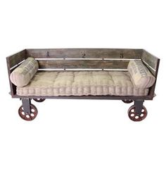 Limoges French Industrial Large Sofa Cart (Great DIY Idea) $2117.