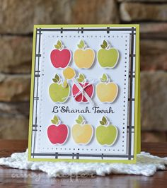L'Shanah Tovah Card by Amy Sheffer for Papertrey Ink (July 2015)