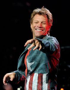 Jon Bon Jovi - Bon Jovi Performs At The Staples Center