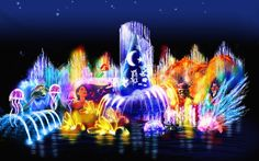 World of Color - Disney's California Adventure. The perfect ending to a perfect day!
