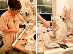 johanna burke - window designer at Bergdorf Goodman http://www.freundevonfreunden.com/interviews/johanna-burke/