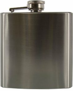 SE 6 oz. Stainless Steel Hip Flask by SE. $4.75. SE 6oz Hip Flask, Stainless. Stainless steel liquor flask 6 oz capacity 3.85 in. X 3.7 in. X 0.92 in.