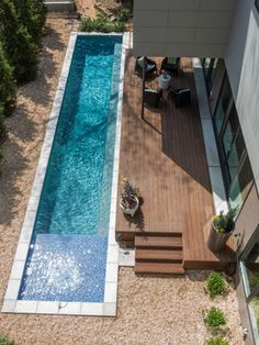 An increasing trend for homeowners installing a pool, is to have a lap pool installed. The benefits of this type of pool are two-fold. Not only is it a cool place to take a dip when the weather is hot, it's also perfect for keeping fit.