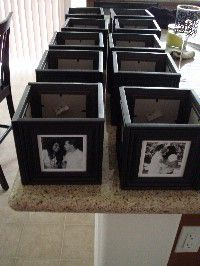 DIY Wedding - CENTERPIECES!!! - BABYGIRLNAENAE's Black Wedding by Color Blog