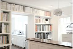 These bookshelves look perfect.