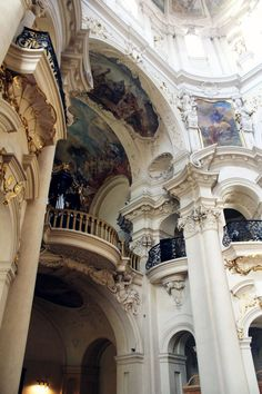 Image uploaded by LeNoir. Find images and videos about art, aesthetic and architecture on We Heart It - the app to get lost in what you love. Architecture Baroque, Beautiful Architecture, Beautiful Buildings, Interior Architecture, Beautiful Places, Classical Architecture, Interior Design, Palaces, Belle Photo
