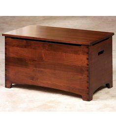 Dovetail Toy Chest: Amish Furniture   Custom Amish Furniture: AmishInteriors.com