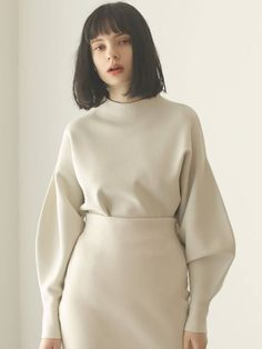 Burgundy Fashion, Winter Dresses, Stretch Fabric, Blouse Designs, Lounge Wear, Active Wear, Runway, High Neck Dress, Knitting