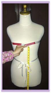 Cara Mengukur Badan Wanita untuk Pola Baju