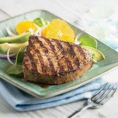 Grilled Salt and Pepper Tuna | Recipe | Grilled Tuna, Tuna Recipes and ...