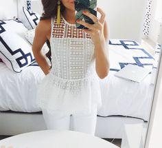 White crochet - Summer trends to watch