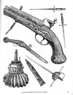 Ancient and Medieval Arms and Armor How To Draw Weapons, Knight Armor, B 13, Swords And Daggers, Vintage Drawing, Arm Armor, Antique Illustration, Knights Templar, Vintage Ornaments