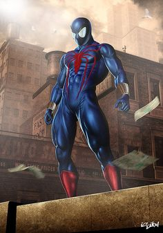 Spider-man 3d Comic Art by Isidore Koliavras
