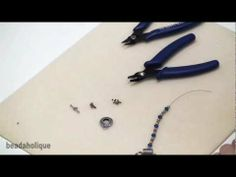 How To Close a Crimp Bead Jewelry Making Tutorial by Stari Girl Jewelry - YouTube