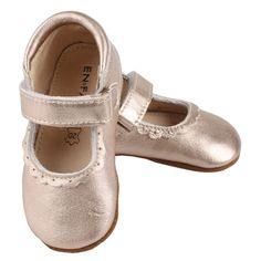 www.lalapatoot.com As sweet as they come. Cute Ballerina with velcro close and 100% leather and nonslip sole. The snug fit and soft and breathable leather make this Ballerina / Mary Jane a popular choice for all ballerinas and princess-alike.  Genuine Leather Easy Slip On & Off Non-Slip Rubber Sole