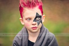 Rock Star Kid's Birthday Party Photos Punk Photoshop Actions Elements PSE Portrait Plug-In