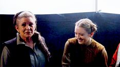 """""""My mom used to say she never knew where Princess Leia ended and Carrie Fisher began. She went from being an unknown actress, the daughter of Debbie Reynolds and Eddie Fisher, to Princess Leia. She was imperfect in many ways, but her imperfections and willingness to speak about them are what made her more than perfect. My mom, like Leia, wasn't ever afraid to speak her mind and say things that might have made most people uncomfortable, but not me and not you. That was why she loved you…"""