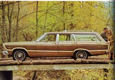 1967 Ford Fairlane Squire Station Wagon