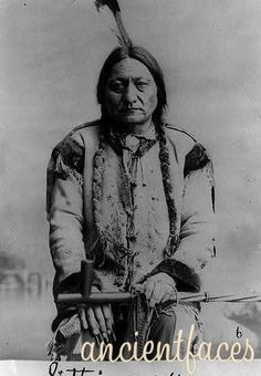 Sitting Bull, Lakota holy man (age: 53 yrs)