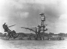 December 1941 The wreck of the USS Arizona BB-39. Description from maritimequest.com. I searched for this on bing.com/images
