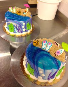 Enjoy the sweetest slice of summer with our beach cakes!