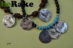 Vendo Pulseras piedra natural o cuero, y plata con medalla/s de plata (925 k) grabada con tu nombre, fecha, etc...
