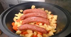 Möhreneintopf mit Mettenden, ein Rezept der Kategorie Hauptgerichte mit Fleisch. Mehr Thermomix ® Rezepte auf www.rezeptwelt.de