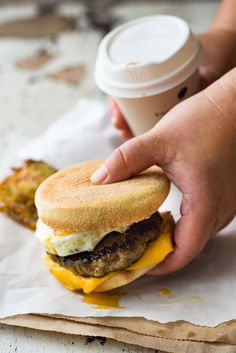 Made this Sausage and Egg McMuffin for friends last weekend, everyone was blown away by how it tastes JUST LIKE McDonald's!!!!