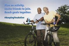 Improve physical health with friends and family.