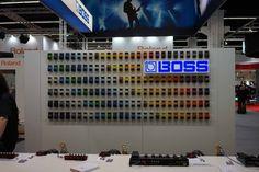 Boss at the Musikmesse Frankfurt 2014 #music #fair #boss