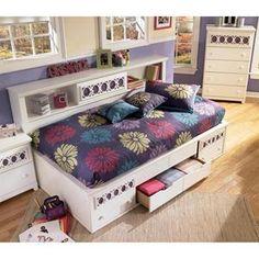 Nebraska Furniture Mart – Ashley Twin Storage Bed Only