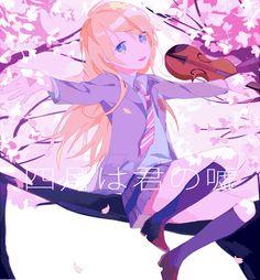 Your Lie in April (四月は君の嘘) - Kawori Miyazono (宮園 かをり) - pixiv 49700024