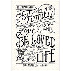 No Matter What - inspirational calligraphy art print by Penny Lane artist Deb Strain