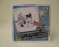 mini masterpiece merry christmas Art Pad, Christmas Cards, Merry Christmas, Birthday Cards, Lily, Stamp, Winter, Projects, Image