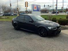 2008 E90 BMW M3 - Winter Set: 18x8 Sport Edition A7(Black) with 235/40R-18 Dunlop SP Winter Sport 3D Tires
