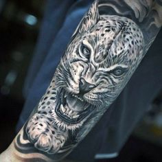50 Snow Leopard Tattoo Designs For Men