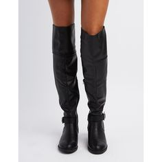 Thigh high boots flat, Charlotte russe and Sexy thighs on Pinterest