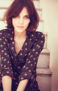 Alexa Chung for Madewell ...still one of my favorite style on HER.
