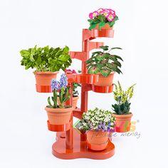 Suport ghivece cu 10 brate cu flori