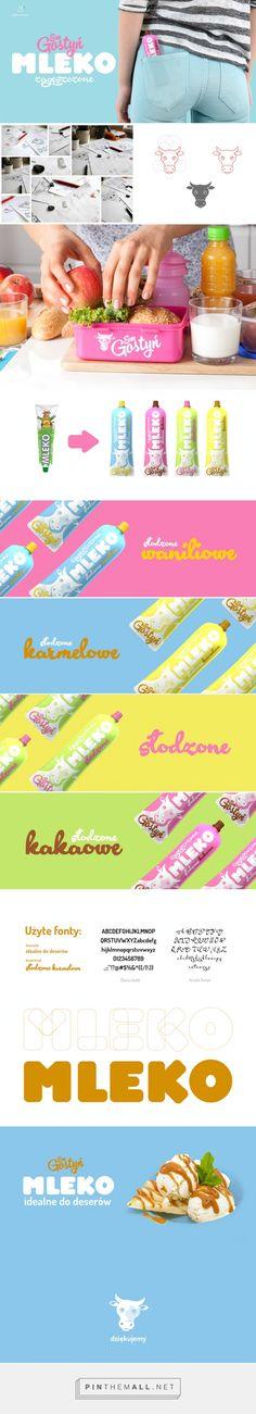Gostyn #Milk #Redesign #packaging designed by Agencja Kreatywna Meggot - http://www.packagingoftheworld.com/2015/06/gostyn-redesigned.html