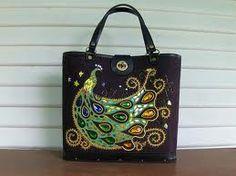Vintage General Crafts Peacock purse